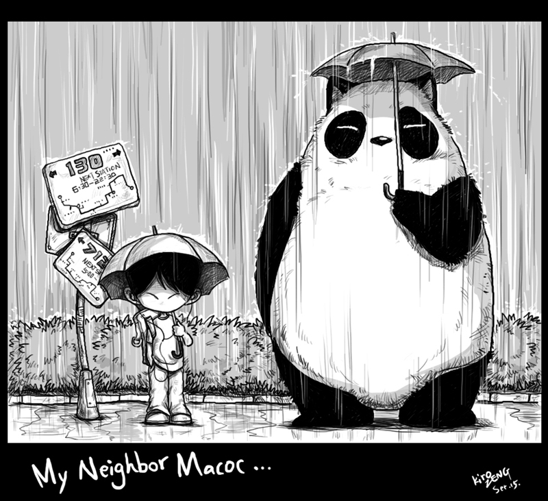 My Neighbor Macoc by kirozeng