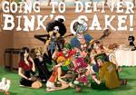 Going to deliver Bink's Sake