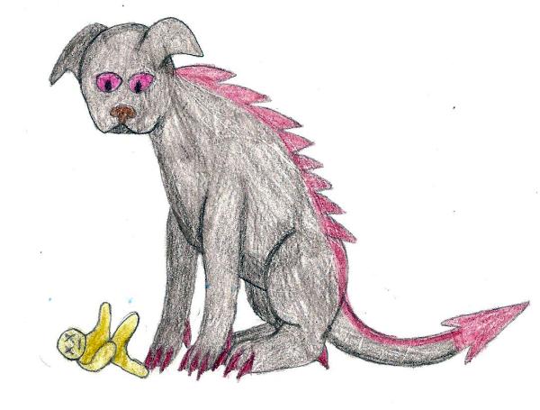 mrs o leary the hellhound by rubydragoncat on deviantart