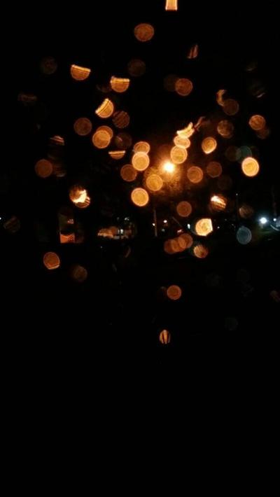 TEXTURE : RAINY BOKEH 1 by chazzief