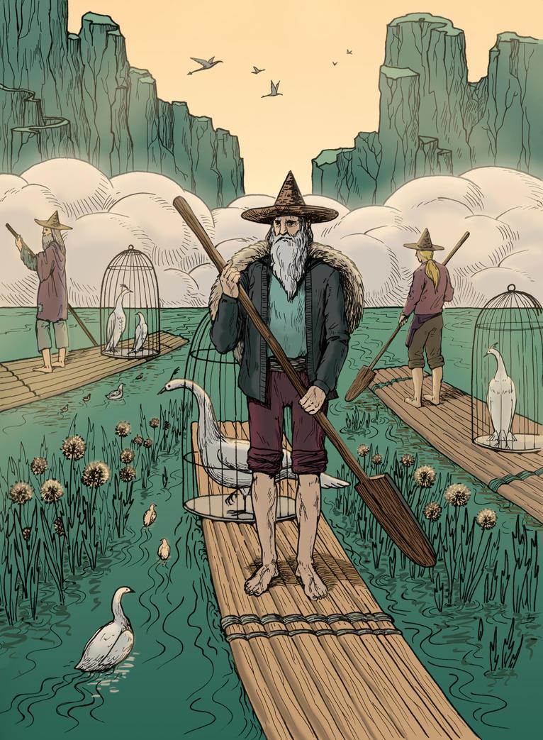 Birdcages by hayfootstrawfoot