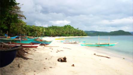 Philippines - Bicol Region - Beach near Ligao City