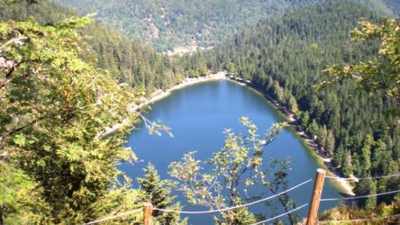 France - Vosges - Corbeaux Lake