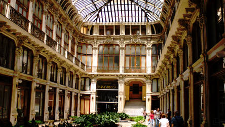 Italy - Turin - Inside a building