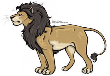 Lion layer practice by ignesfatuis