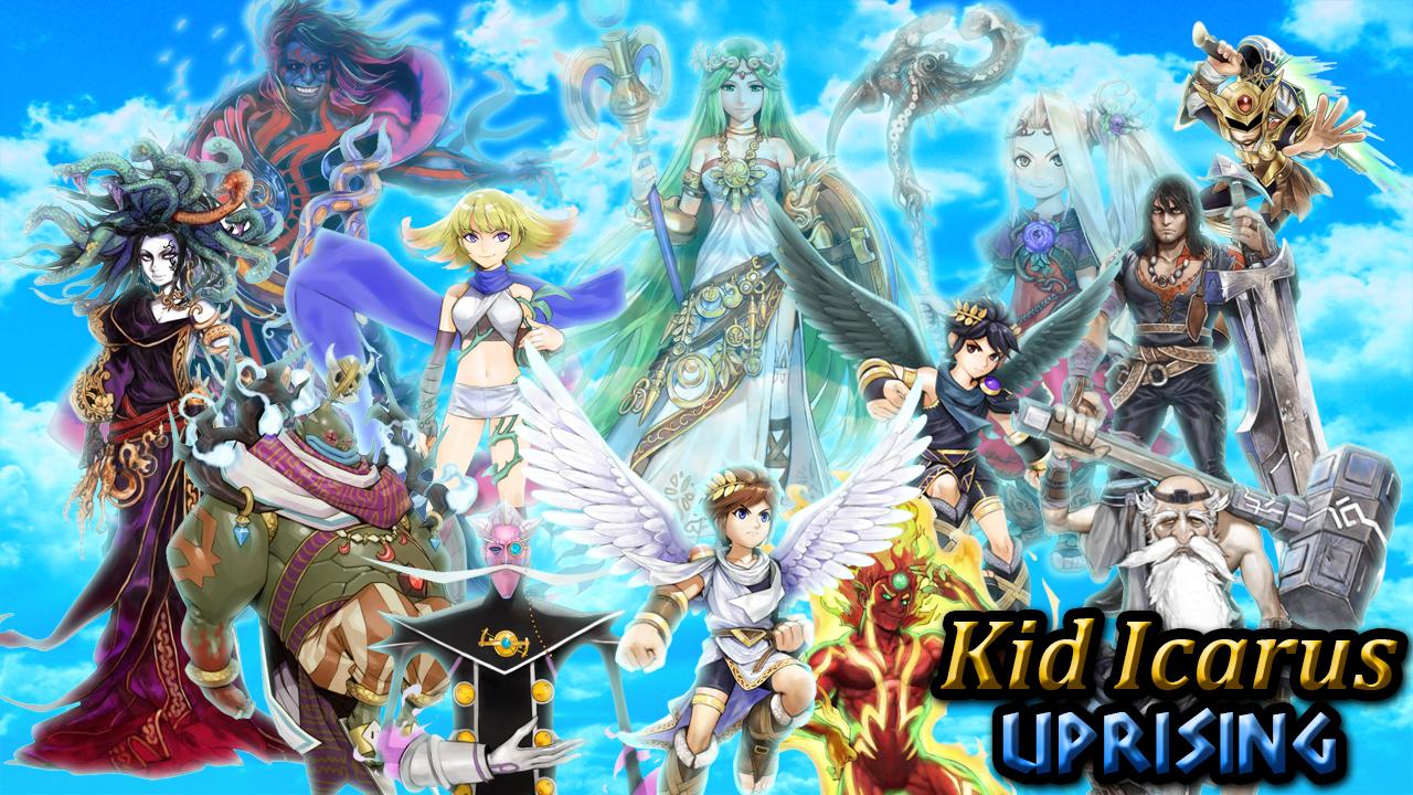Kid Icarus Uprising Background