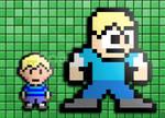 My Mega Man and Mother 3 Pixel Art