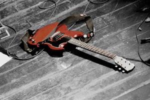 Lost Guitar by 88blackrose88