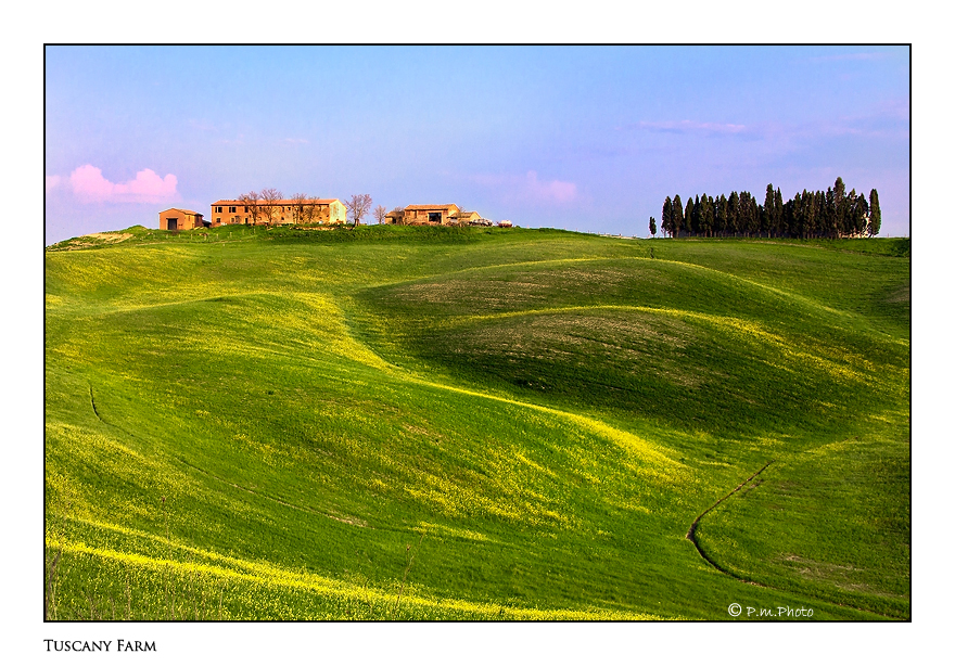 Tuscany Farm by Marcello-Paoli