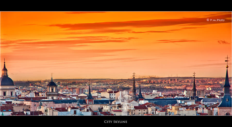 City Skyline by Marcello-Paoli