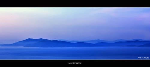 Blue Horizon by Marcello-Paoli