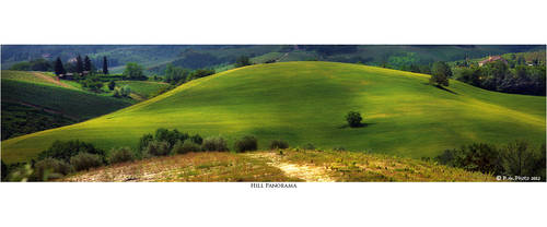 Hill Panorama by Marcello-Paoli