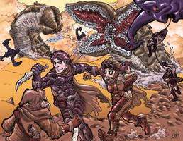 Dune Homage Colored by bayul