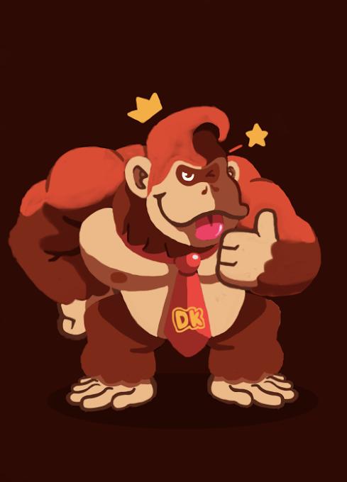 Donkey Kong by CrownCreative