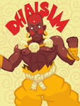 Dhalsim by CrownCreative