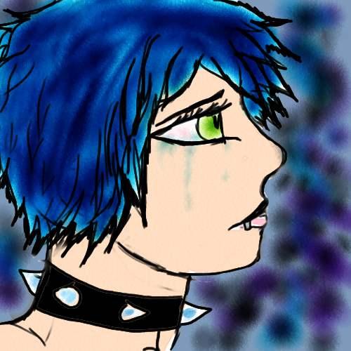some random depressing drawing. by melaniedragon