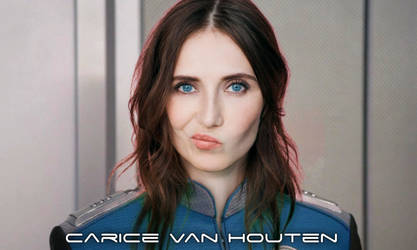 Carice van Houten on The Orville (Mockup) by UPRC