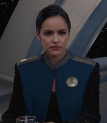 Melissa Fumero on The Orville by UPRC