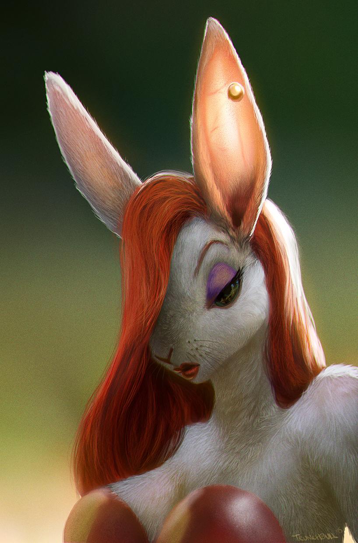 Jessica Rabbit by Trunchbull
