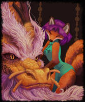 Kitsune: of Foxes and Fools by Trunchbull