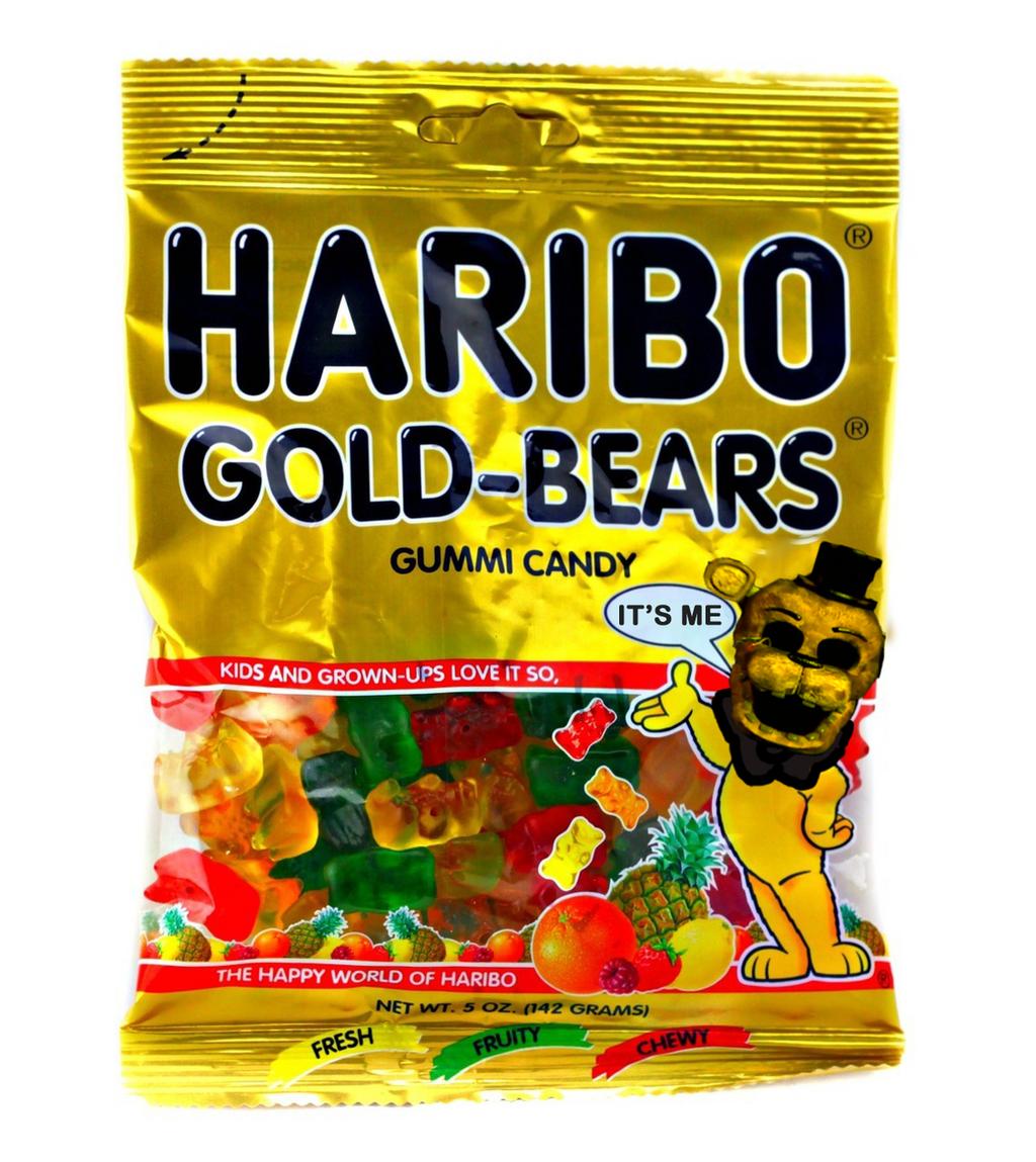 Haribo gold en freddy faz bears by jaders75 on deviantart