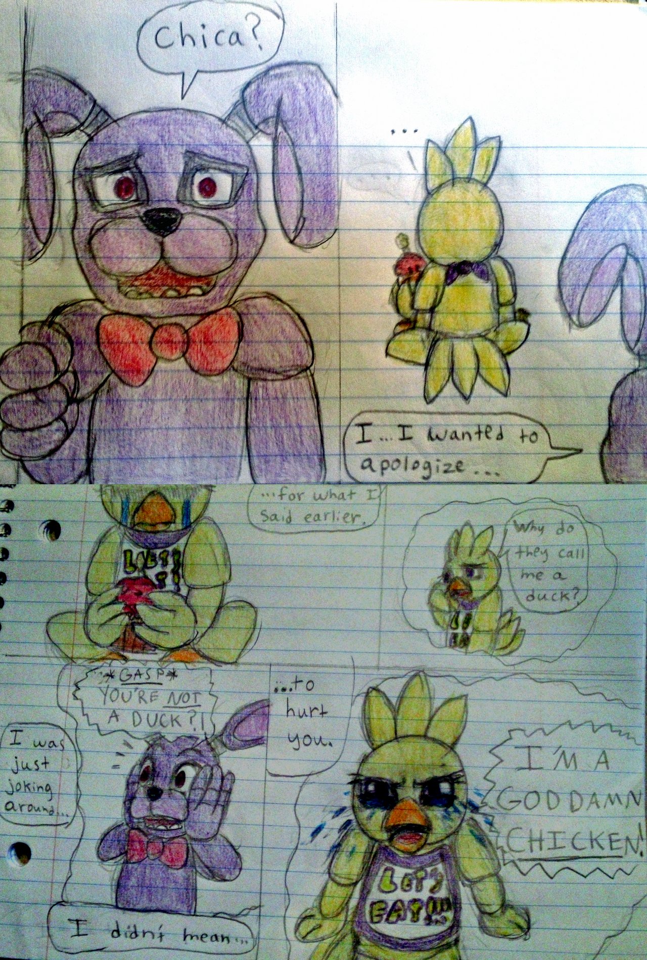 Toy chica fanfiction