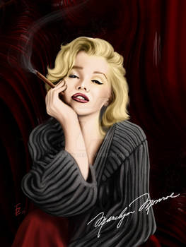Marilyn Monroe in the Man Cave