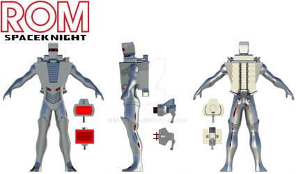 Rom Spaceknight Blender model