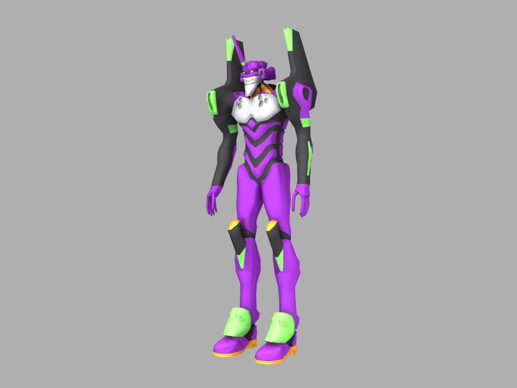 EVA - 01 3D  MODEL by samuraifreelance