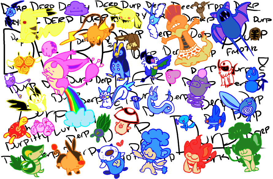 Omocat Derp Pokemon 15979 Movieweb