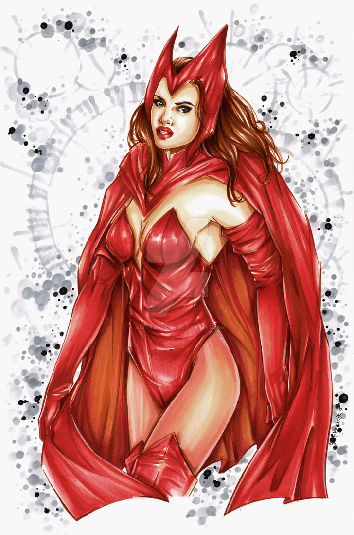 Scarlet Witch by judittondora