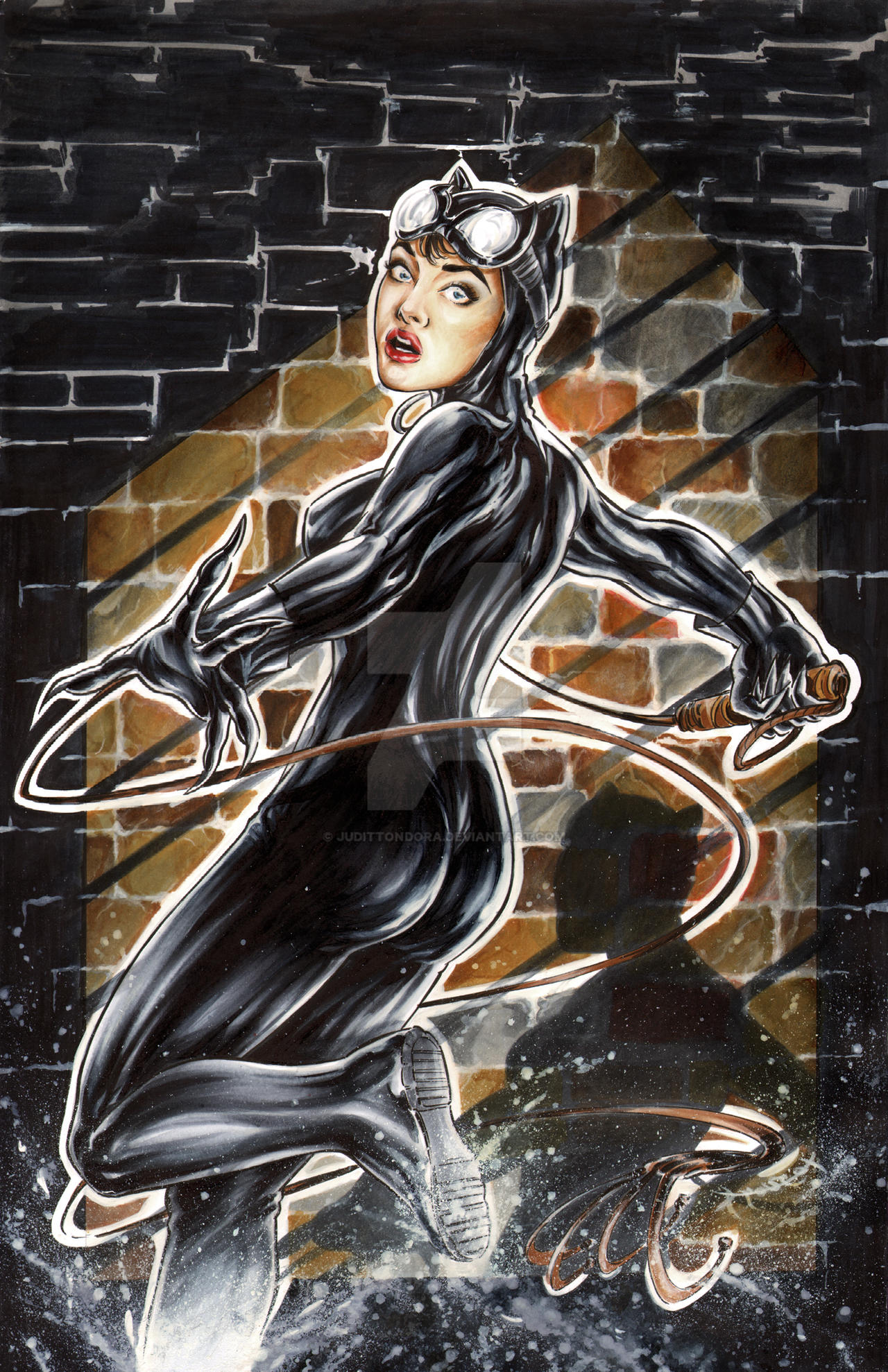 Catwoman by judittondora