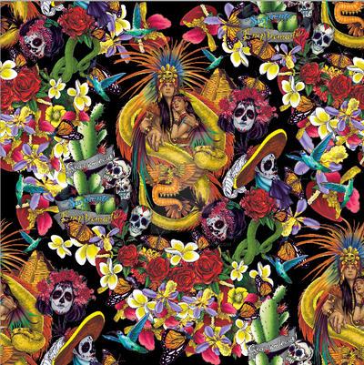 Quetzalcoatl pattern by judittondora