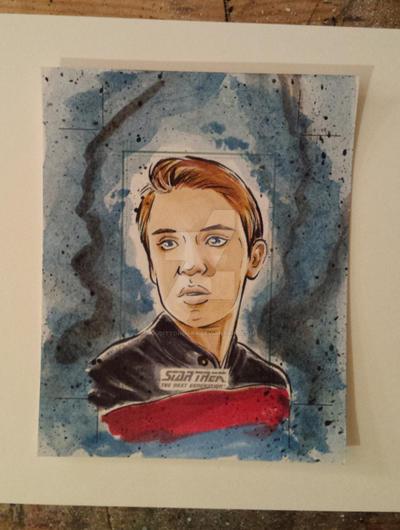 Star Trek TNG for Rittenhouse 3 by judittondora