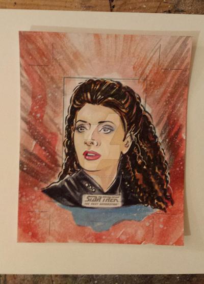 Star Trek TNG for Rittenhouse 5 by judittondora