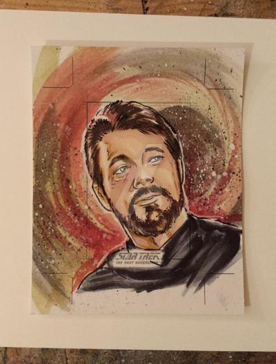 Star Trek TNG for Rittenhouse 6 by judittondora