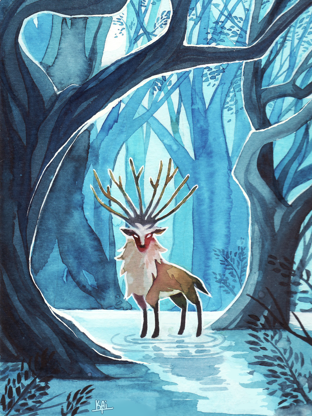 Forest Spirit by KaiTexel