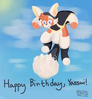 Fan Art: Happy Birthday, Yassui! (2015)