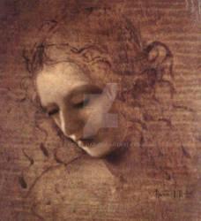 Self Portrait in the style of Leonardo