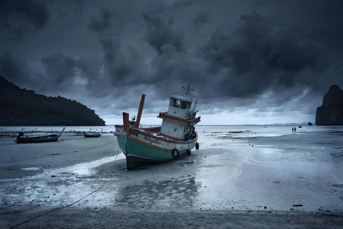 Low tide by Vint26