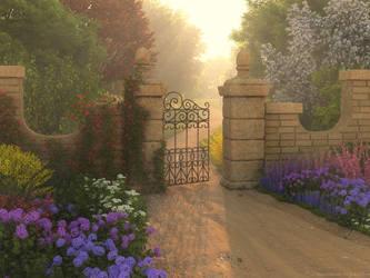 Open Gate by Vint26