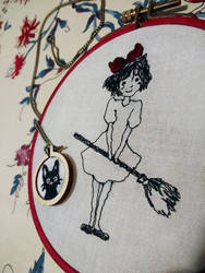 Kiki - Jiji embroidery 2