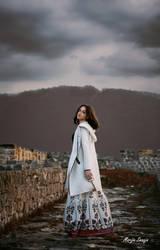 Girl with key by marijasmanja