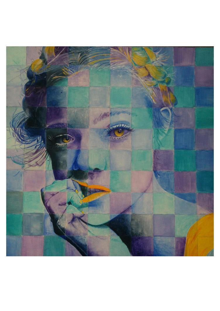 Elle Fanning portrait by strange-hime