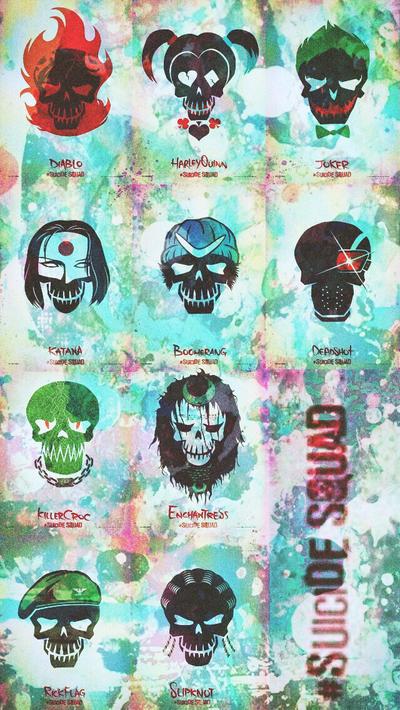 suicide squad iphone wallpaper  Suicide Squad by guizin63 on DeviantArt