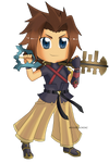 Kingdom Hearts - Terra Chibi