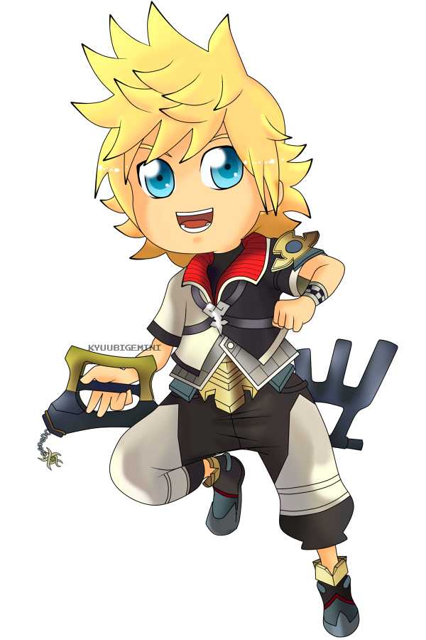 Kingdom Hearts - Ventus Chibi by Kanokawa