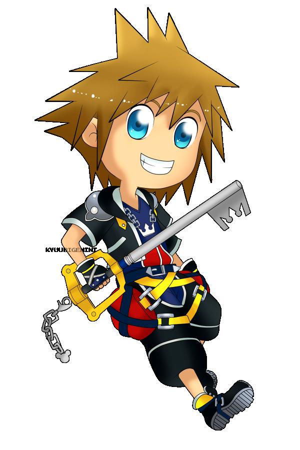 Sora Kingdom Hearts Lineart : Kingdom hearts sora chibi by kanokawa on deviantart