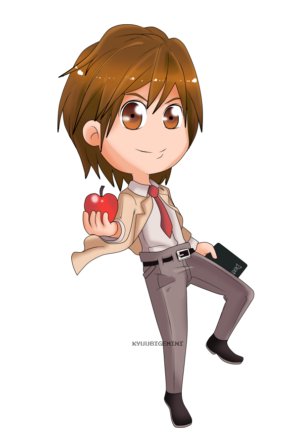 Death Note- Light Yagami Chibi by Kanokawa on DeviantArt
