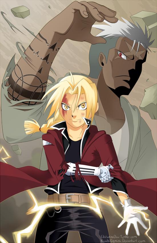 Fullmetal Alchemist: Ed vs Scar by Kanokawa